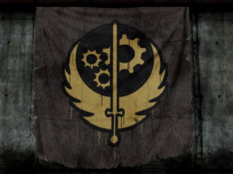 Fallout Brotherhood of Steel Logo