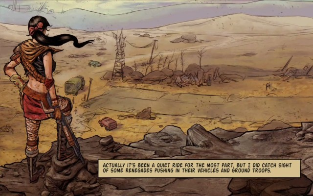 Wasteland Angel Comic
