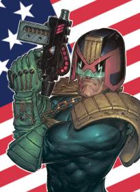 Judge Dredd Predicts the Future