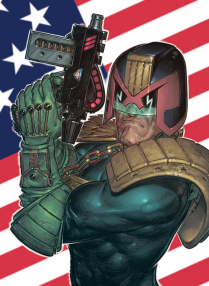 Judge Dredd Predicts the Future