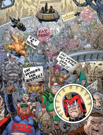 Judge Dredd Fatties