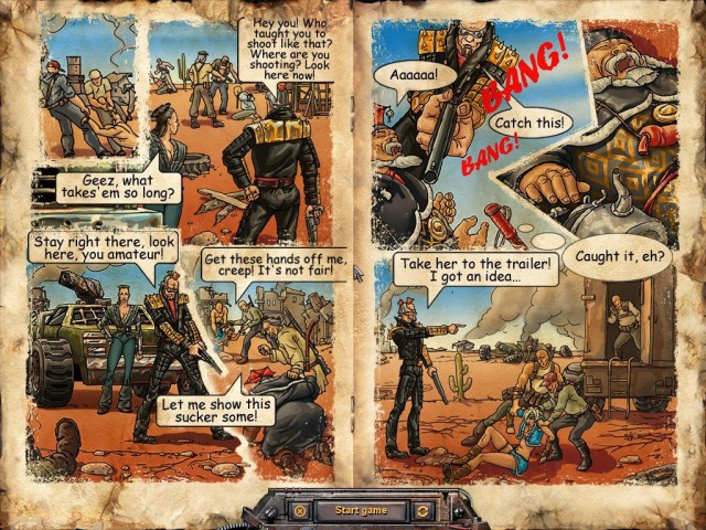 Desert Law Comic