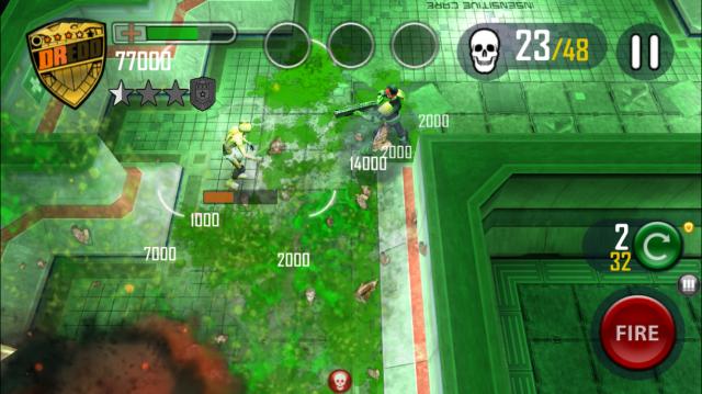 Dredd vs Zombies Resyk