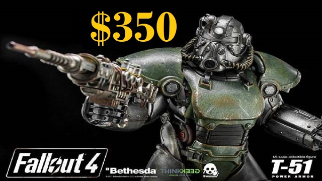 Fallout T-51b Figure Statue