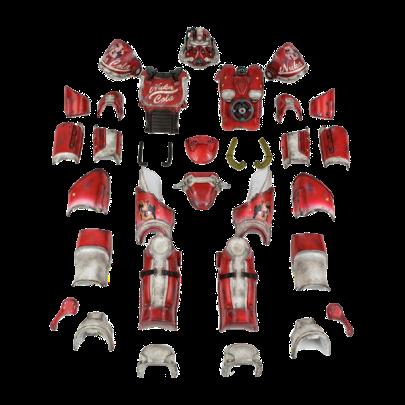 Fallout t-51b Nuka Cola Armor