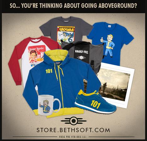 Fallout Merchandise